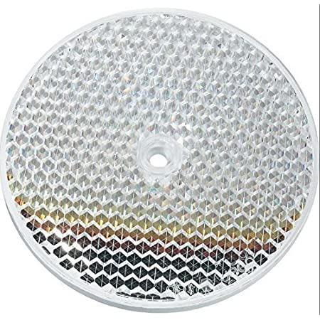Round Reflector With 84mm Diameter Retroreflective Photoelectric Sensor Switch