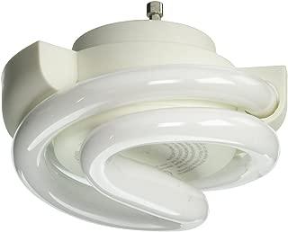 TCP Low Profile SpringLamp CFL Light Bulb – Soft White 60W Equivalent (2700K) GU24 Twist and Lock Base