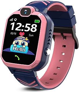 Kids Smartwatch Boys Girls, Two Ways Call Smartwatch Phone Alarm Clock SOS for Kids 3-12 Students Children Birthday Gifts