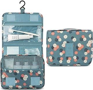 Hanging Travel Toiletry Bag - Auma Portable Storage Bag, Travel Organizer, Business Toiletries Bag for Men Shaving Kit and...