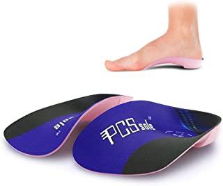 comprar comparacion PCSsole 3/4 Plantillas de calzado ortopédico Soportes de arco alto Plantillas de zapatos para la fascitis plantar,Pie plan...