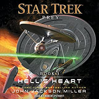 Hell's Heart     Prey, Book 1              By:                                                                                                                                 John Jackson Miller                               Narrated by:                                                                                                                                 Robert Petkoff                      Length: 12 hrs and 30 mins     85 ratings     Overall 4.6