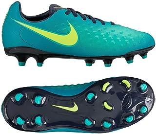 Nike Kids Magista Opus II FG Rio Teal/Volt/Obsidian/Clear Jade Soccer Shoes