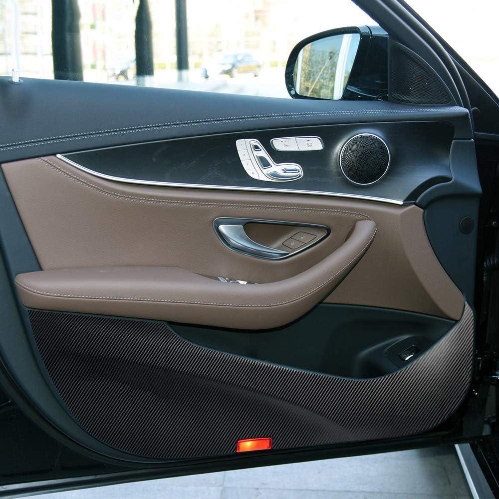 LUVCARPB Car Door Anti Kick Protection Protecto Pad Carbon Fiber 40% OFF Cheap Sale Luxury