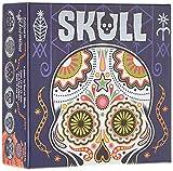 Asmodee - SKR01N - Skull - Jeux de Cartes - Argent