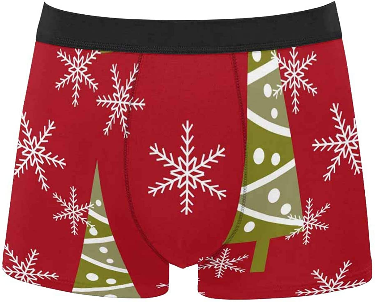 InterestPrint All Over Print Breathable Polyester Boxer Briefs Underwear 0