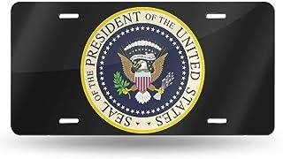 nonebrand Seal President Of The United States Nummernschild Nummernschild Custom License Plate Car Tag Metallschild