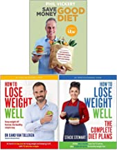 Save Money Good Diet, How to Lose Weight Well, The Complete Diet Plans 3 Books Collection Set