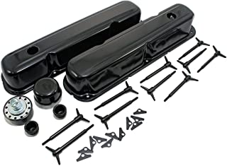 Assault Racing Products A3029PBK for Small Block Chrysler/Plymouth/Dodge Black Dress Up Kit SBM 273 318 340 360 LA