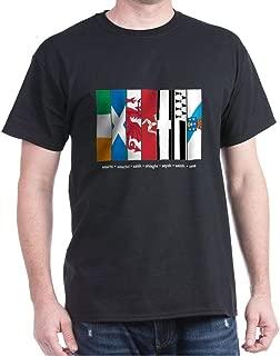 CafePress Seven Celtic Nations Classic 100% Cotton T-Shirt
