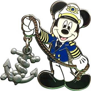 Cruise Line Mickey Mouse with Anchor Dangle