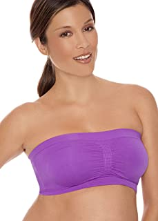 Lamaze Maternity Women's Seamless Padded Soft Tube Nursing Bra