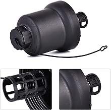 Plastic Front Oil Filter Cap Housing Replaces Fit For Vw Passat Jetta Eos Gti Rabbit Cc Tiguan R32 06D115408B 917-049