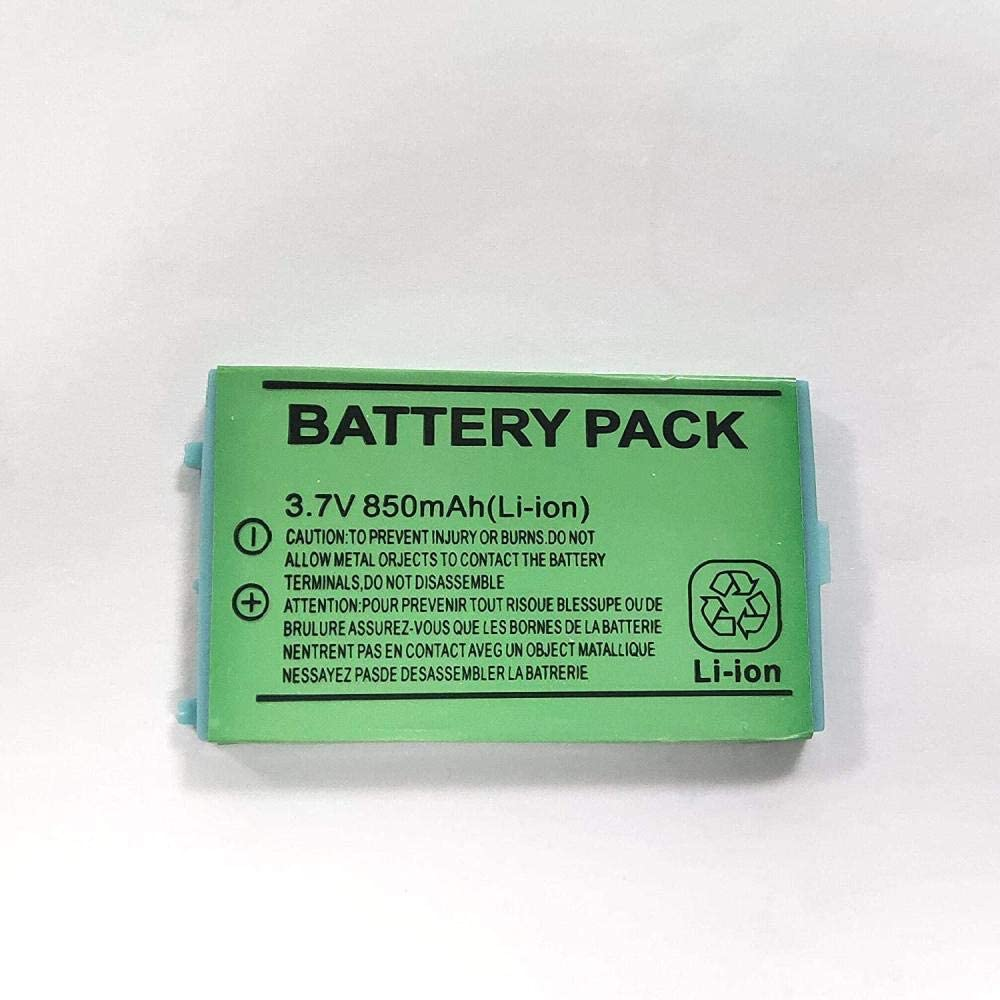 Li ION 3.7v Max 49% OFF Battery for 850mah Raleigh Mall Gba-SP-Green