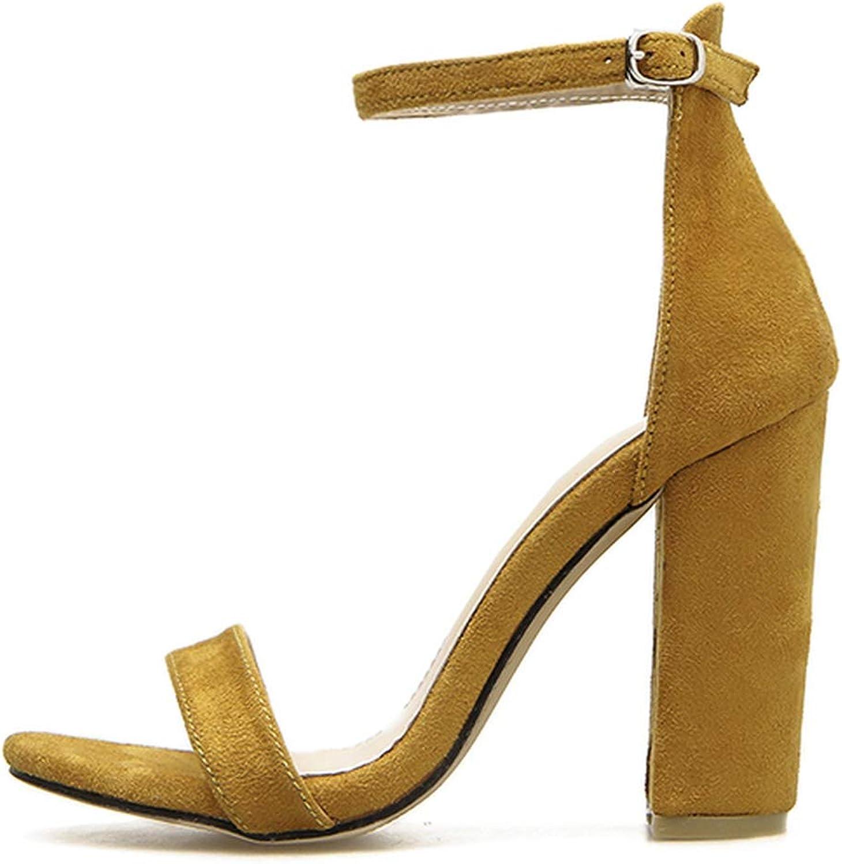 Little SU Open Toe Pumps Ankle Strap Dress High Heel Sandals Platform Pump Ankle Strap Block Heel
