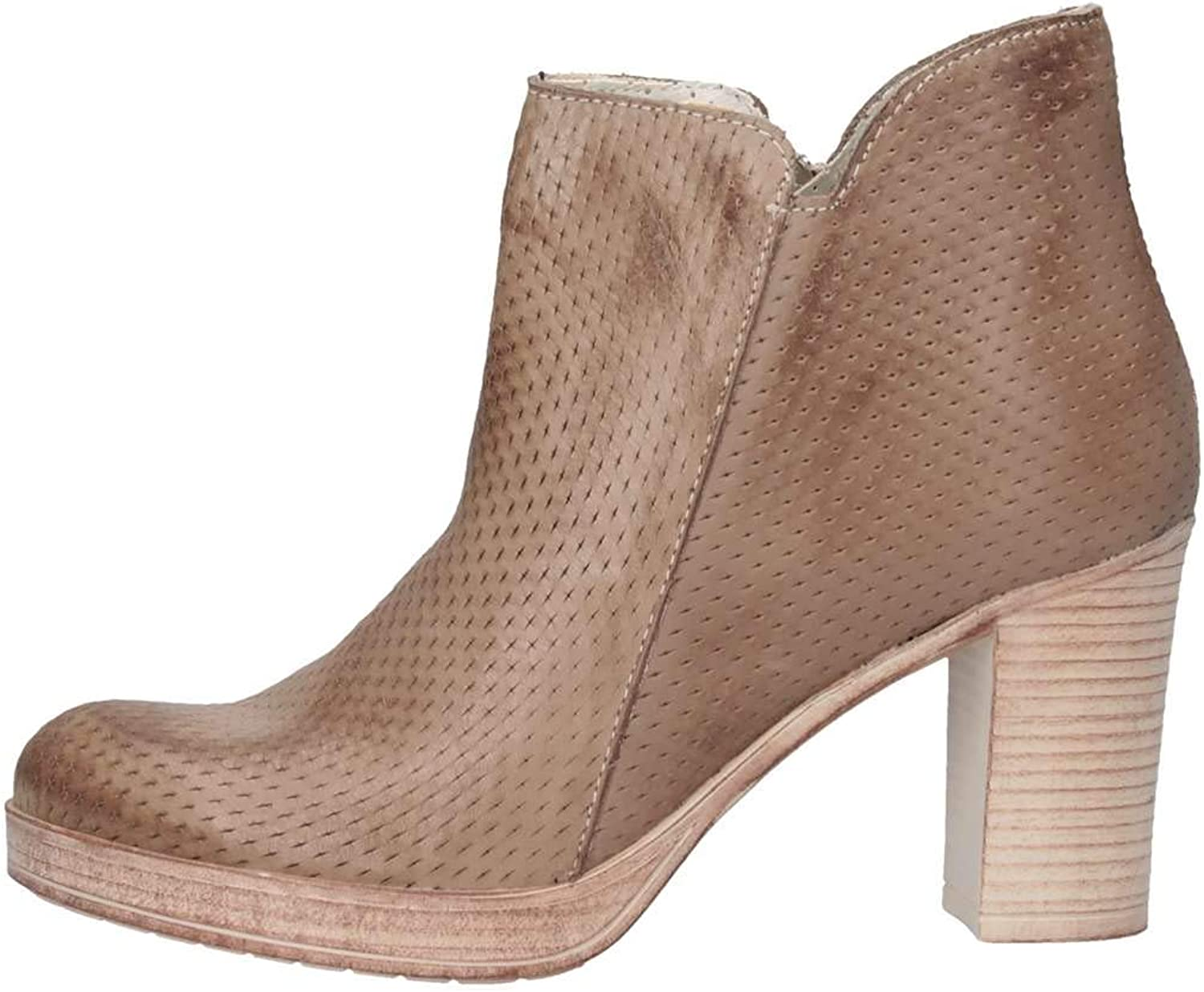 Bage Made In In  0243 Taupe Stiefeletten Frau  Blitzlieferung
