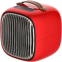 Zzq- Portátil 800W Calentador De Cerámica PTC Elemento De Cerámica Calefactor De Aire Caliente Bajo Consumo Ahorro Energía Protección del Sobrecalentamiento para Habitación, Oficina, Baño