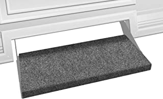 Prest-O-Fit 2-0353 Outrigger RV Step Rug Castle Gray 23 In. Wide
