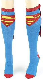 Superman, Batman and Wonder Woman Cape Socks