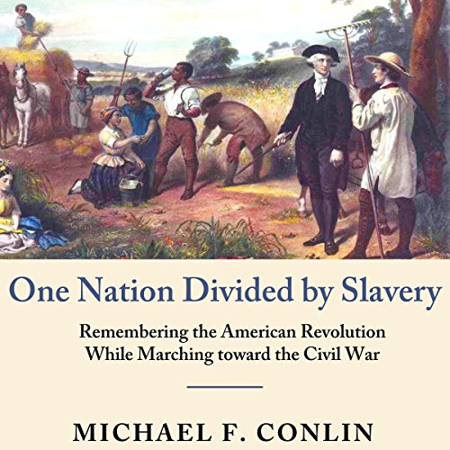One Nation Divided by Slavery Audiobook By Michael F. Conlin cover art