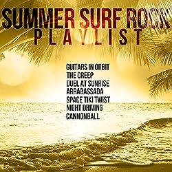 Summer Surf Rock Playlist: Guitars in Orbit, The Creep, Duel at Sunrise, Arrabassada, Space Tiki Twist, Night Driving, Cannonball