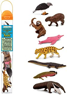 Safari Ltd. TOOBs Collection - South American Animals TOOB (Includes 9 Figures) - Non-Toxic and BPA Free - Ages 3 and Up