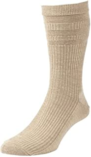 HJ HALL SOFTOP NON ELASTIC WIDE FIT 3 PACK SOCKS IN SIZE UK6 TO UK15, 4 COLORS OPTION