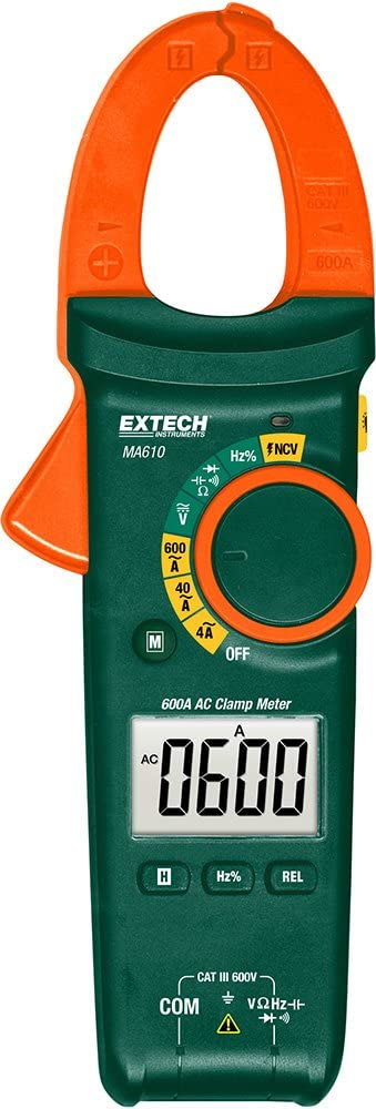 Sale Extech MA610 600A Clamp Detector Tampa Mall with NCV Meter