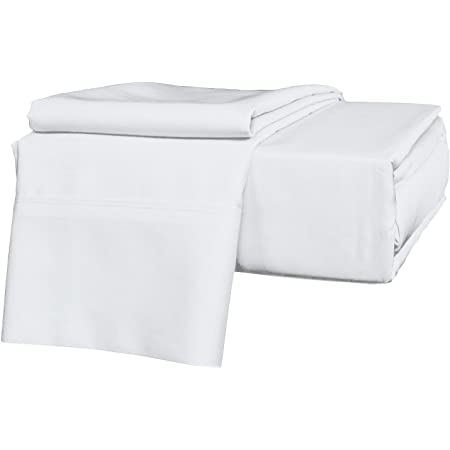 Black, Full XL, Pocket Size 12in BRIGHTLINEN 1PCs Fitted Sheet 100/% Egyptian Cotton Hotel Quality 300 Thread Count