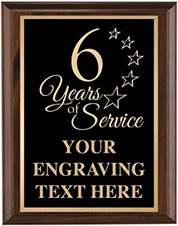 Best recognition plaques for years of service Reviews