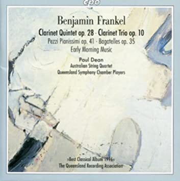 Frankel, B.: Clarinet works