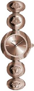 VERF00918 Medusa Stud Icon Ladies Rose Gold Stainless Steel Watch