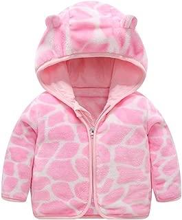 Vincent & September Fall Winter Coat Hooded Outwear Cute Ear Zipper Clothes Toddler Kids Baby Girl Boy 12Months-4T
