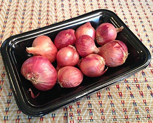 タイ産 新鮮輸入 ホムデン ( 赤わけぎ )(100g) トムヤムクン カオソーイ カオパットクン ヤムウンセン タイ料理 食材 エスニック 野菜