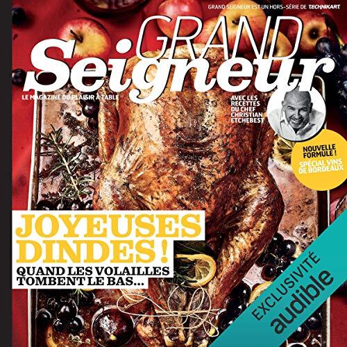 Grand Seigneur. Le magazine du plaisir à table, Décembre 2018 cover art