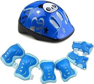 QLING - Juego de 7 protectores de casco para niños para