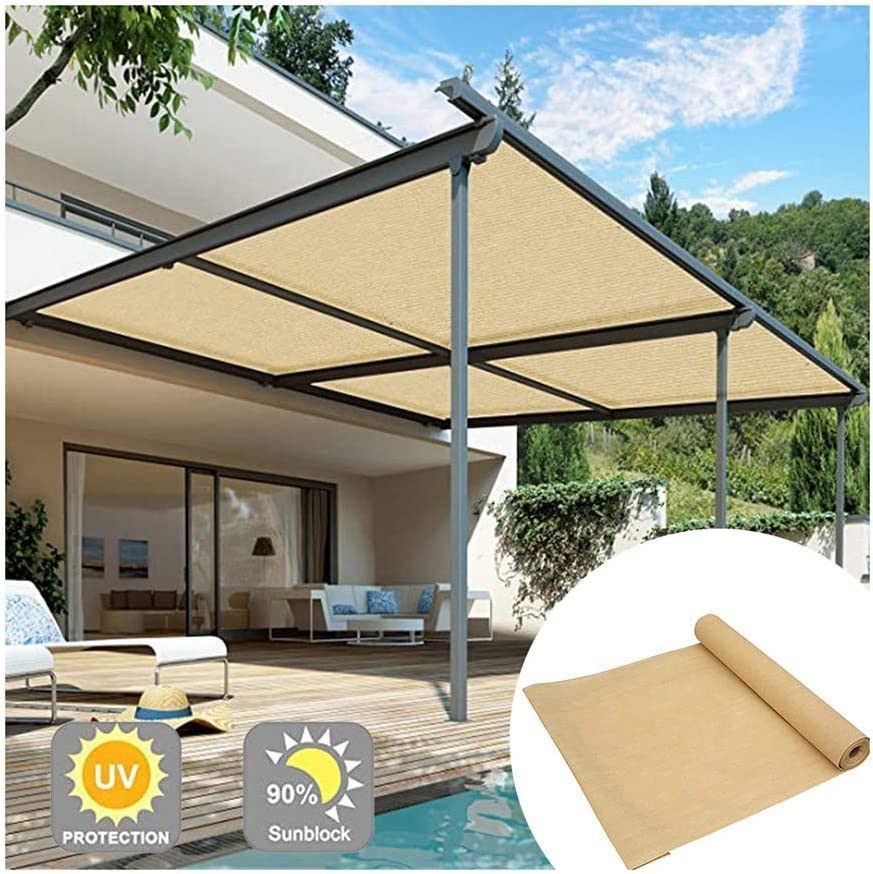 XLJUN Shade Colorado Springs Mall Cloth with Grommet Garden Netting Decor Recommendation Screen Home