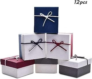 Scatola scatolina collana bigiotteria pacco da 12 pezzi