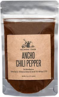 Sponsored Ad - Ground Ancho Chile Powder Spice: Pure chili pepper seasoning ideal for cooking Mexican recipes by Collected...