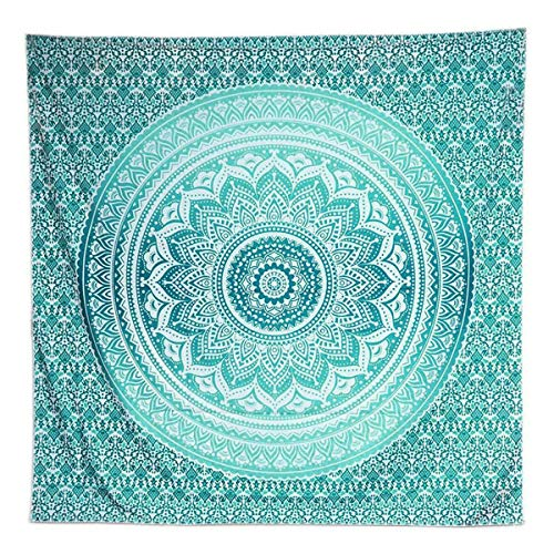 Yinuoday Mandala Tapestry, 3D Wall Hanging Mandala Tapestry Bedding Tapestry Indian Beach Throw Wall Art Home Decorations for Living Room Bedroom 200x150cm