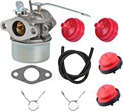 Butom 640086A 640086 632641 632552 Carburetor+Fuel Line+Primer Bulb+Fuel Filter for Tecumseh 3HP 2 Cycle Engine HSK600 HSK635 TH098SA AH600 Toro CCR1000 Snowblower