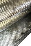 Solar Bay 10 x 1M Mp 2:2 Aluminio Aislamiento Doble Aluminio Doble Burbuja 6mm Grueso 1Rollo