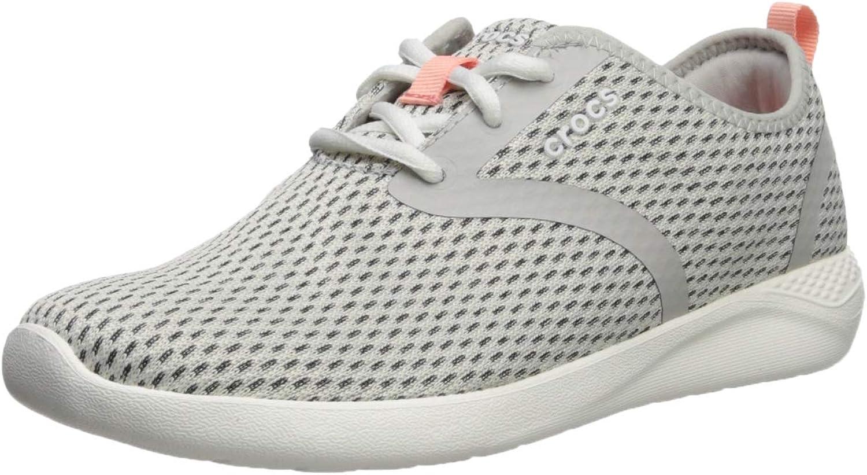 Crocs Women's LiteRide Mesh Lace-Up Sneaker