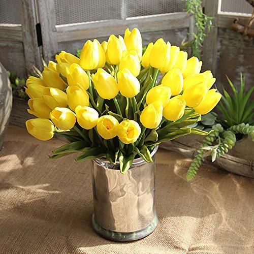 YueLove Florales Phragmites Decoración, Ramo Decoración Boho Decoracion Hogar Habitacion Salon Baño, Phragmites Communis Natural Flores Secas For Los Floreros