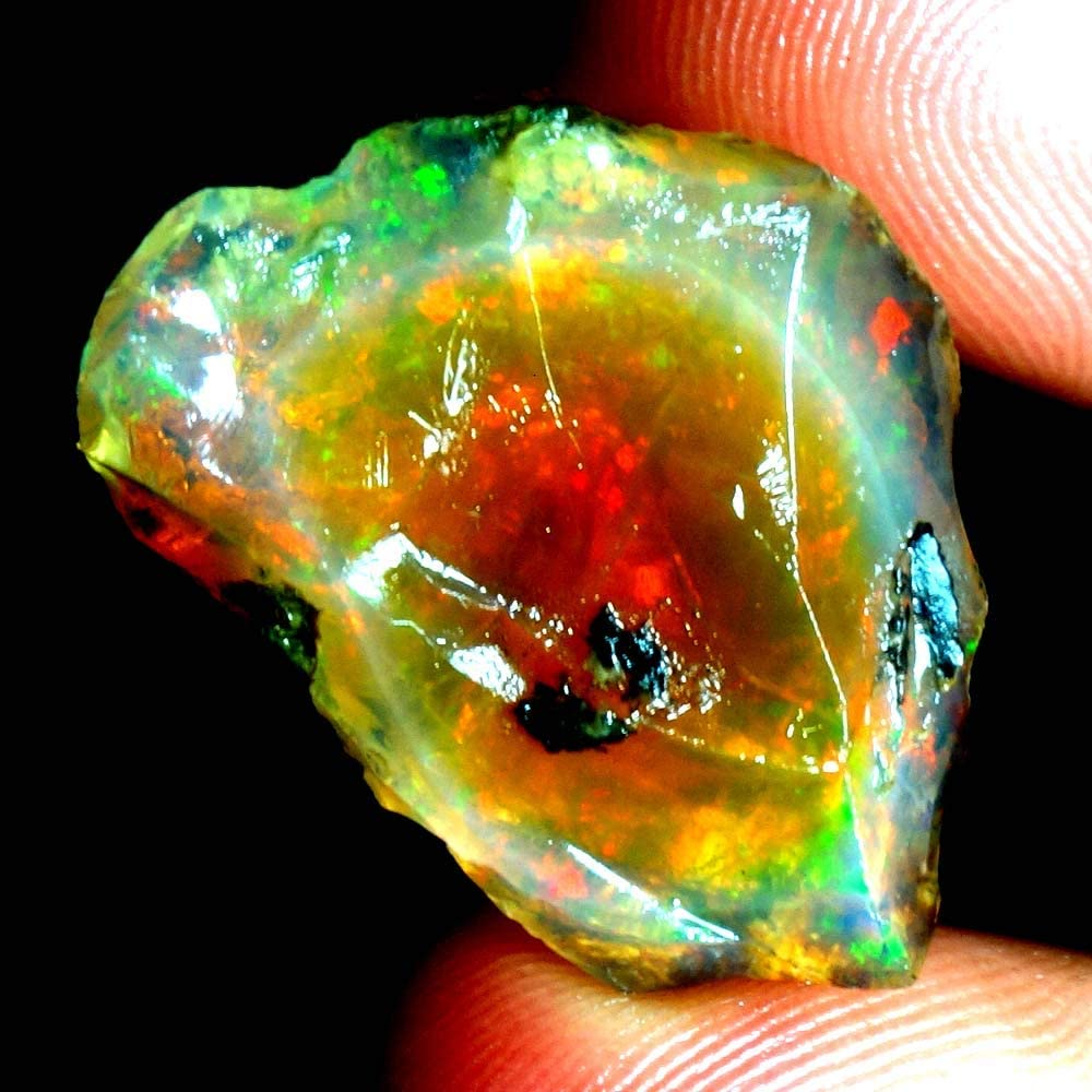 GEMSCREATIONS Ranking TOP19 Play of Safety and trust Colors 100% Gorgeous Natural Ethiopian Opa