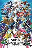 Burning Desire Poster Super Smash Bros Ultimate Switch Poster