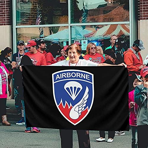 'N/A' SBLB 187th Airborne Rakkasans Banner Brisa Bandera al aire libre Banderas de casa Bandera de jardín Bandera de 3 'X 5' pies