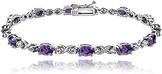 Best sterling amethyst bracelet Reviews