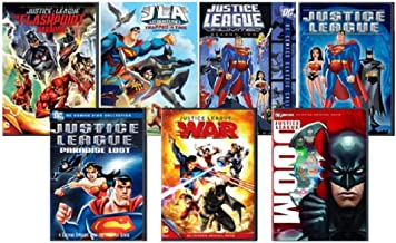 Justice League Multi Feature: The Flashpoint Paradox/ Trapped in Time/ Unlimited Season 2/ Secret Origins/ Paradise Lost/ Doom/ War