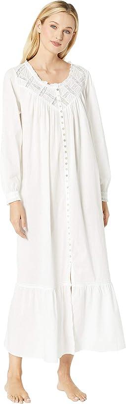 Cotton Lawn Ballet Button Front Coat